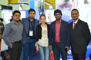 Alfa ES official representative's visit to Sri Lanka.